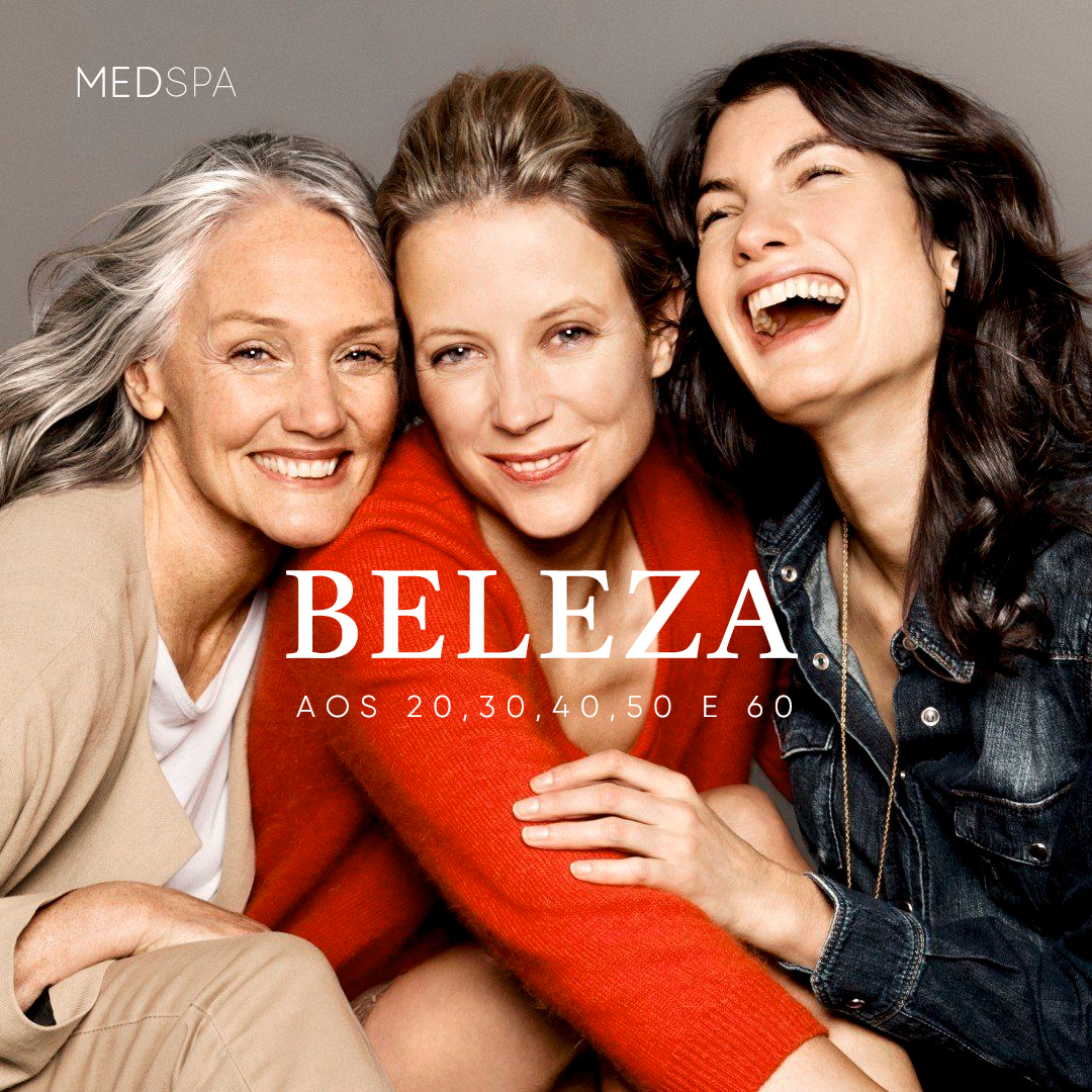Envelhecer não precisa ser sinônimo de medo! – Conheça os planos de beleza para cada idade!
